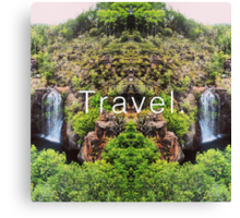 Travel. Florence Falls Canvas Print