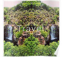 Travel. Florence Falls Poster
