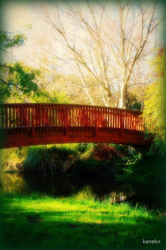 Red Bridge by kaneko