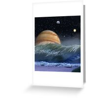 "Alien Landscapes-""Surfs up-Evers Pipe"" Greeting Card"