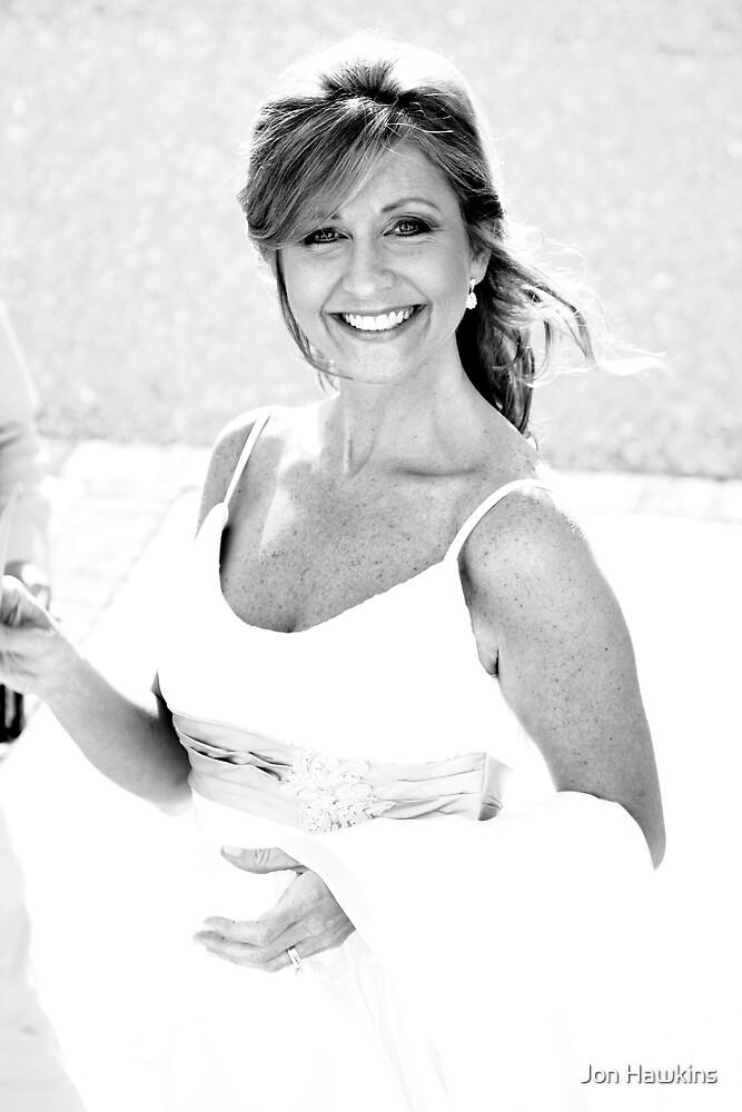 Haley at Wedding Reception by Jon Hawkins