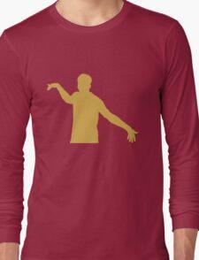 Gold Sturridge Silhoutte Long Sleeve T-Shirt