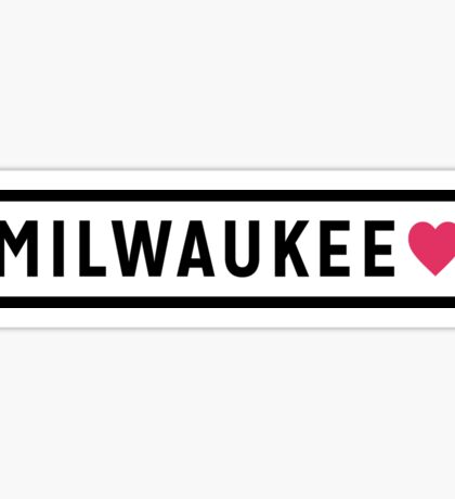 Milwaukee WI Lite Sticker