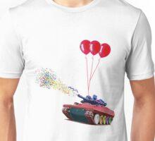 Confetti Exploding Tank Unisex T-Shirt