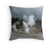 Storms & Steam Throw Pillow
