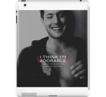 Dean Winchester Quote iPad Case/Skin