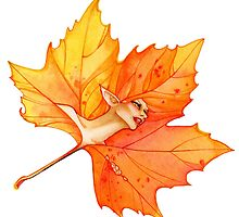 Fae Gate Autum Flame by dreaminghazel