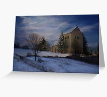 Dream = Pastoral Winter Greeting Card
