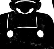 M For Mario Sticker