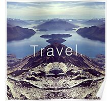 Travel. Lake Wanaka Poster