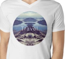 Travel. Lake Wanaka Mens V-Neck T-Shirt