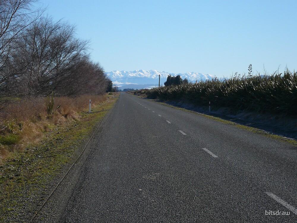 Mountain Road by bitsdraw