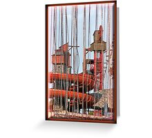 Chained by the Pied Piper Greeting Card