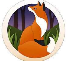 Evening Fox by Diony  Rouse