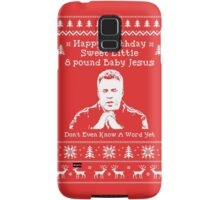 Happy Birthday Jesus! Samsung Galaxy Case/Skin