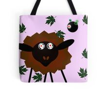 Hypnotised Sheep with the Robot Master Tote Bag
