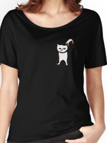 Scat, Cat! 6 small Women's Relaxed Fit T-Shirt