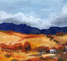 Summer Landscape by Nicole Chaffey