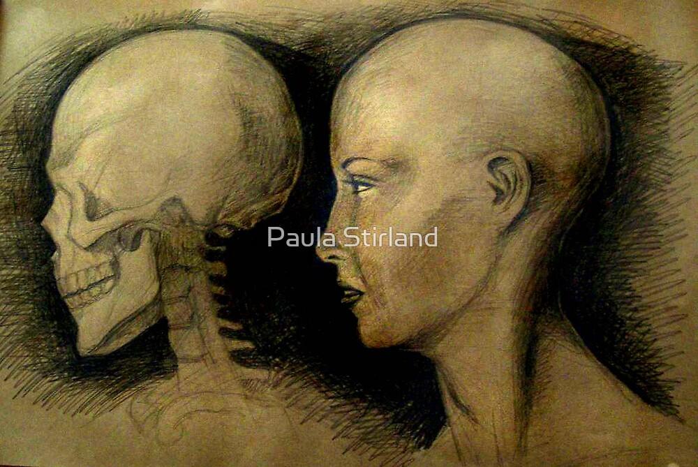 Head profile studies by Paula Stirland