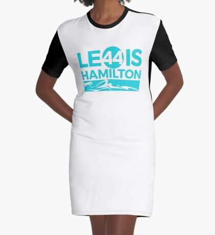 LEWIS HAMILTON Graphic T-Shirt Dress