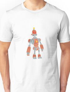 brown robot with lamp head Unisex T-Shirt