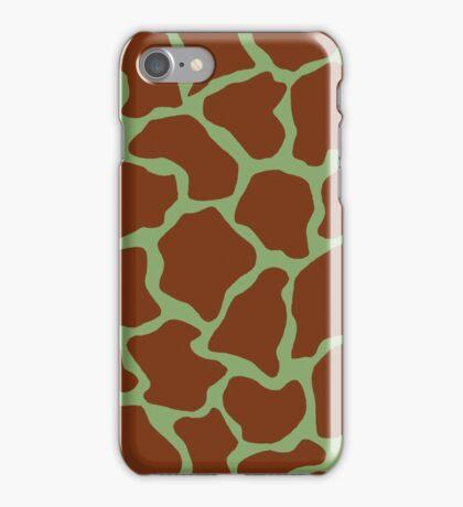 Asparagus in Giraffe Pattern  iPhone Case/Skin