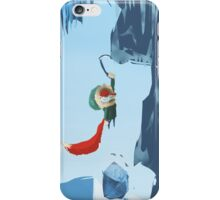 Ice climber iPhone Case/Skin