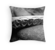 Mystery Teeth Throw Pillow