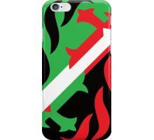 """Máscara Misteriosa"" Wrestling Design (White) iPhone Case/Skin"