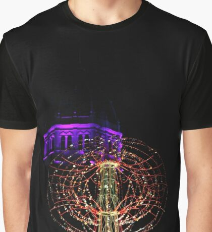 Nebulous Light Sculpture Graphic T-Shirt