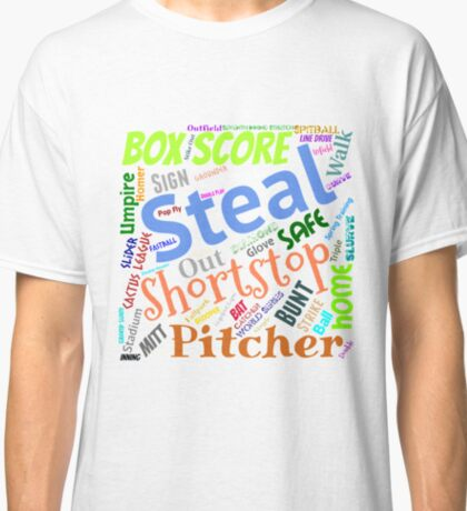 Baseball Terms Classic T-Shirt