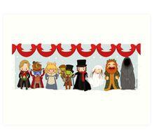 Muppets Tiny Christmas Carol Art Print