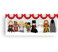 Muppets Tiny Christmas Carol Canvas Print