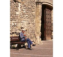 Old French Man Photographic Print