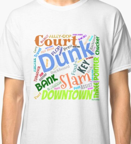 Basketball Terms Classic T-Shirt