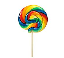 Lollipop Candy Shop Photographic Print