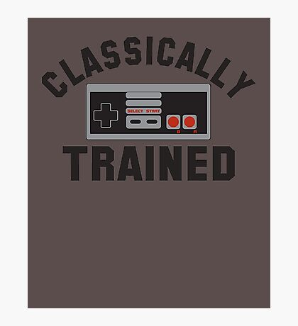 Clasically Trained T-shirts Photographic Print