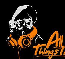DJ ACKBAR (orange) by TheLegitEggo