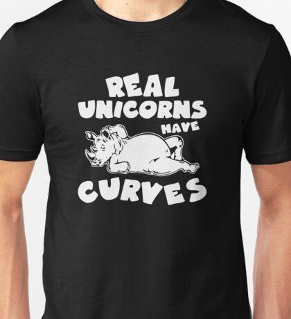 Real Unicorns Haves Curves Unisex T-Shirt