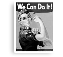 Rosie the Riveter Metal Print