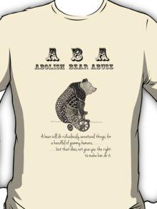 ABA - Circus Bear - Light Background T-Shirt