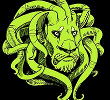 Octopus Lion by martianmoon