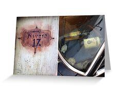San Miguel de Allende - Postcard 17 Greeting Card