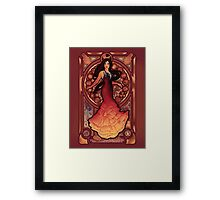 Fire is Catching Framed Print