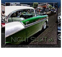 NIGHT SHIFT 56 by Tony  Bazidlo