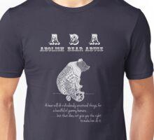 ABA - Circus Bear - Dark Background Unisex T-Shirt