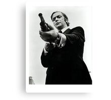 Don't fuck with Mr. Caine. Canvas Print