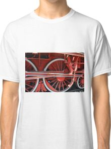 Detail of old vintage locomotive Classic T-Shirt