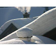 snow everywhere Photographic Print