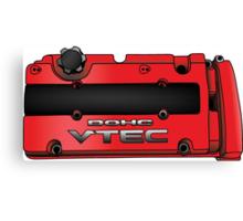 Honda H22 Valve Cover - Red Canvas Print